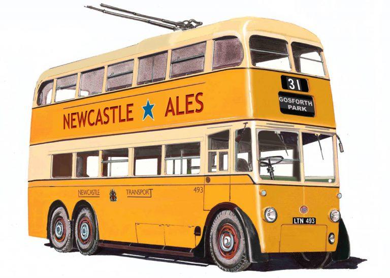 Newcastle Trolleybus – NR 05